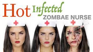 a zombie nurse 3 ways makeup tutorial halloween 2016