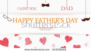 congratulation poster happy fathers day flyer banner stock vector 138890792