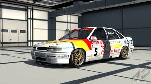 opel calibra touring car vauxhall cavalier 1990 btcc vauxhall car detail assetto