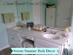 Vintage Bathroom Accessories Our Hopeful Home Master Bath Simple And Serene Summer Decor