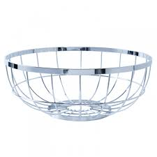 Modern Fruit Holder Open Grid Fruit Basket Designer Copper Fruit Bowl