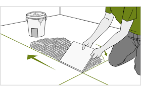 How To Tile A Floor Quick Tips How To Tile A Floor Mike And Molly U0027s House