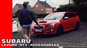 2016 subaru levorg gt review caradvice 2017 subaru levorg sti accessories youtube