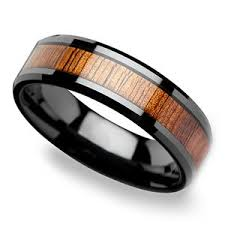 koa wedding bands koa wood rings a collection of s wood wedding rings