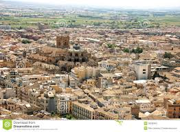 Granada Spain Map by Aerial View Of The City Of Granada Spain Stock Photo Image