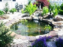 Garden Pond Ideas Backyard Koi Pond Ideas Gazing To A Fish Pond Might Be A