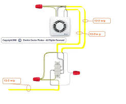 wiring diagram for nutone ceiling fans with light wiring diagram