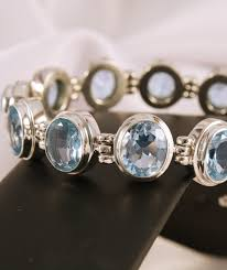 silver topaz bracelet images Silver blue topaz bracelet tell him this is what you want jpg