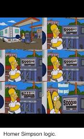 Meme Generator Homer Simpson - 92998 99997 s99999 free gas homer simpson logic homer simpson