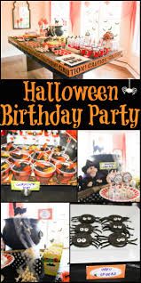 1st Halloween Birthday Party Ideas by Halloween Birthday Party Halloween Birthday Parties Halloween