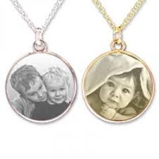 Photo Engraved Necklace Photo Pendant Uk Photo Engraved And Printed Colour Pendants