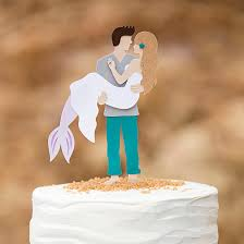 photo cake topper you to see this diy mermaid wedding cake topper