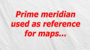 Prime Meridian Map Prime Meridian Used As Reference For Maps Codycross Crossword