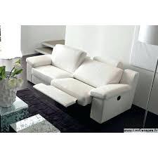 canap contemporains canape 3 places 2 relax cuir blanc canapac contemporain en imola