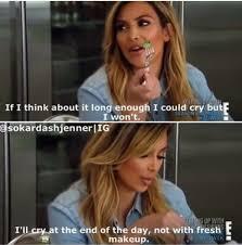 Cry Meme - kim kardashian cry makeup meme the hollywood gossip