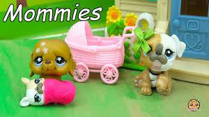 grand puppy lps mommies littlest pet shop mom u0026 baby series