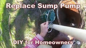 how to replace back yard sump do it yourself for homeowners by