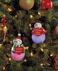 color changing themed snowman ornaments ltd commodities