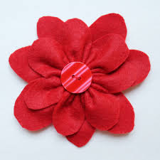 Gift Wrapping How To - gift wrapping how to make a felt flower topper loulou downtown