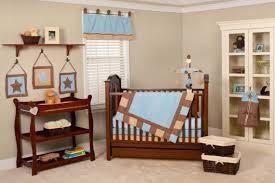 Baby Boy Nursery Baby Boy Nursery Room Installed With Baby Storage Furniture Wall