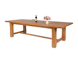 very large solid oak refectory table to seat 12 14 people