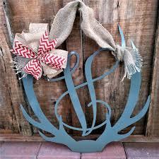 deer antler antler decor antler wreath front door antler wreath