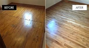 Refinished Hardwood Floors Before And After Wood Flooring Refinishing Alyssamyers Hardwood Floor Stain Brands