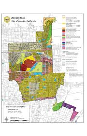 Los Angeles City Council District Map by Zoning Map Arcadia Ca