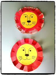 pinterest bricolage enfant bricolage lion de cirque assiette en carton enfant cirque