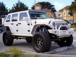 modified white jeep wrangler how to spotlight jk beginniner modifications jk forum
