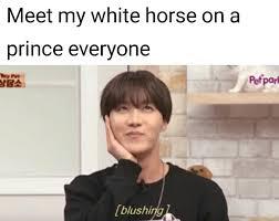 Meme J - bts bangtan j hope hobi bts funny bts meme j horse lmao