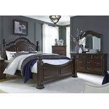 king poster bedroom set liberty furniture messina estates 4 piece king poster bedroom set
