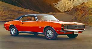chevy 68 camaro 1967 1969 chevrolet camaro