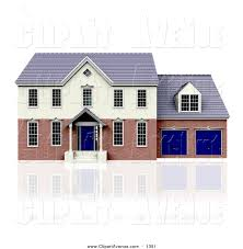 royalty free stock avenue designs of houses