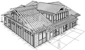 new home plans with photos perspective framing rear roof 2560 new home plans with photos perspective framing rear roof