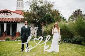 california weddings katharine and brad s eclectic and modern handmade california