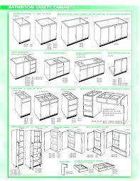birch shaker door kitchen cabinet sizes chart