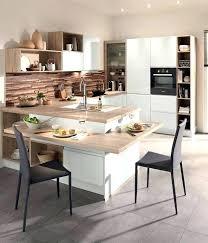 ilot cuisine avec table table basculante cuisine drawandpaint co