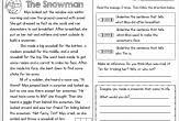 free printable reading comprehension worksheets for 2nd grade 3rd