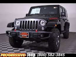 jeep rubicon black 2017 jeep wrangler unlimited rubicon in ohio for sale 21 used