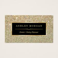 Event Business Cards Custom Event Planner Business Cards Zazzle Co Uk