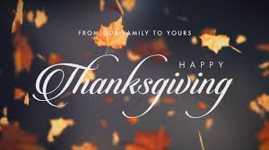 Happy Thanksgiving Family From Our Family To Yours Happy Thanksgiving On Vimeo