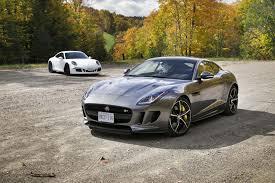 Porsche 911 Awd - 2015 jaguar f type r awd vs 2015 porsche 911 carrera 4 gts autos ca