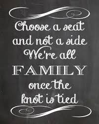 wedding chalkboard sayings quotes about choosing sides 42 quotes