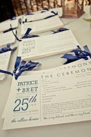 Easy Wedding Programs 146 Best Wedding Program Images On Pinterest Wedding Ceremonies