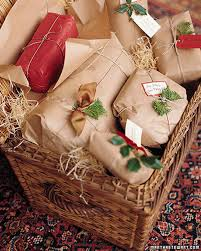 christmas gift packages gift wrapping ideas martha stewart