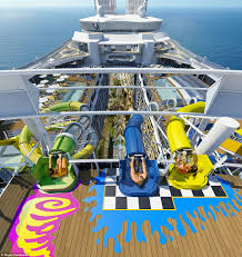 royal caribbean to introduce a water park on harmony of the seas