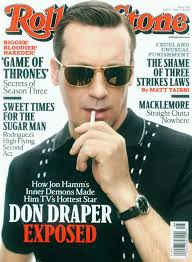 Don Drape Rolling Stone And Mad Men Don Draper Cover Stylefrizz