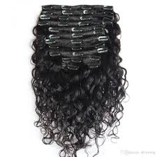 best clip in hair extensions brand water wave in hair extensions yaki clip in human hair