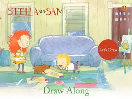 good free app of the day draw along with stella and sam free